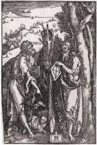 Dürer, Albrecht: Die hll. Johannes und Onophrius