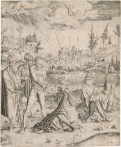Meister MZ: Das Martyrium der hl. Katharina
