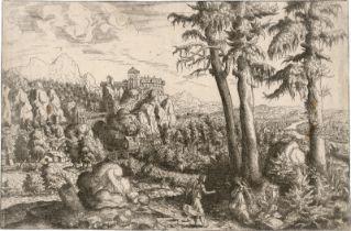 Lautensack, Hanns: Der Engel tröstet Hagar