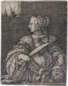Beham, Barthel: Judith mit dem Haupt des Holofernes
