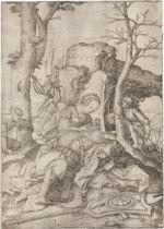 Leyden, Lucas van: Samson und Delila