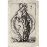 Aldegrever, Heinrich: Madonna mit dem Kind auf der Mondsichel