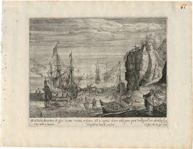 Passe, Magdalena de: Vier Landschaften nach Roelant Savery und Adam Willaerts...