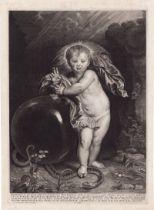 Jode II, Pieter de: Das Christuskind als Salvator Mundi