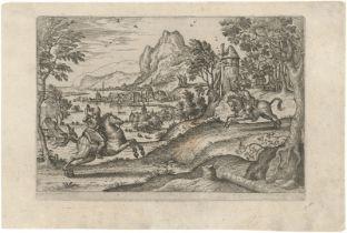 Borcht, Pieter van der: Zwei Reiter in einer Landschaft