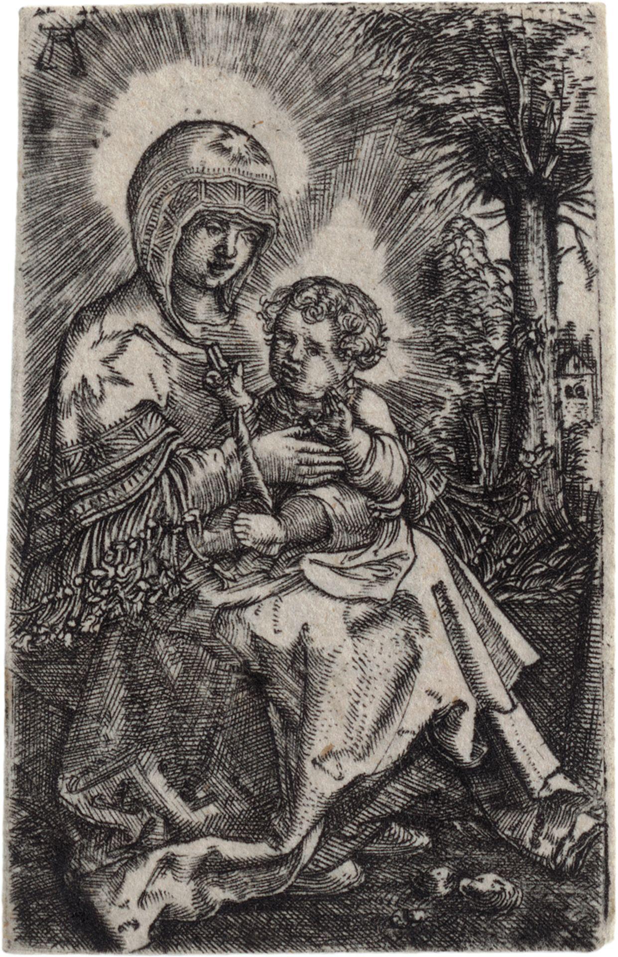 """Altdorfer, Albrecht: Die """"schöne Maria"""" in einer Landschaft"""