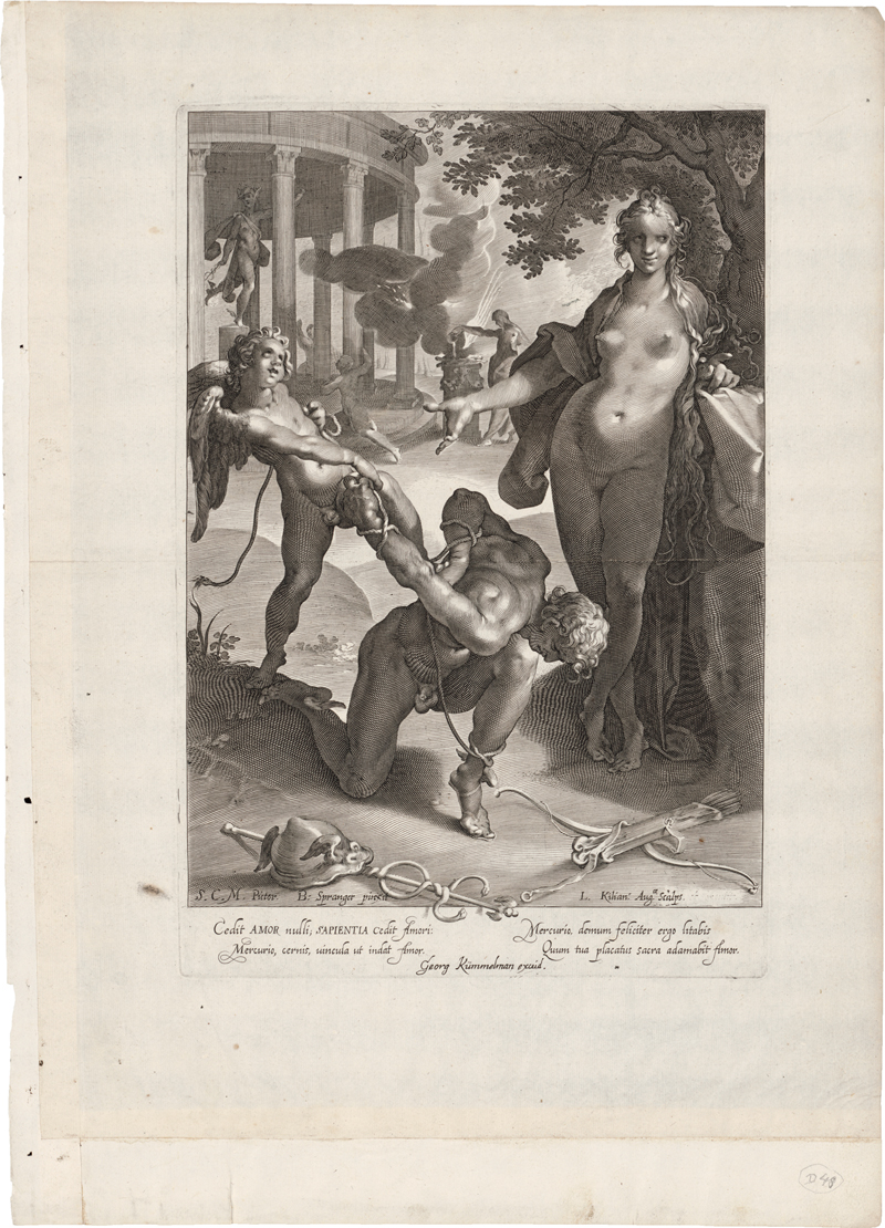 Kilian, Lucas: Merkur von Venus und Amor gefesselt
