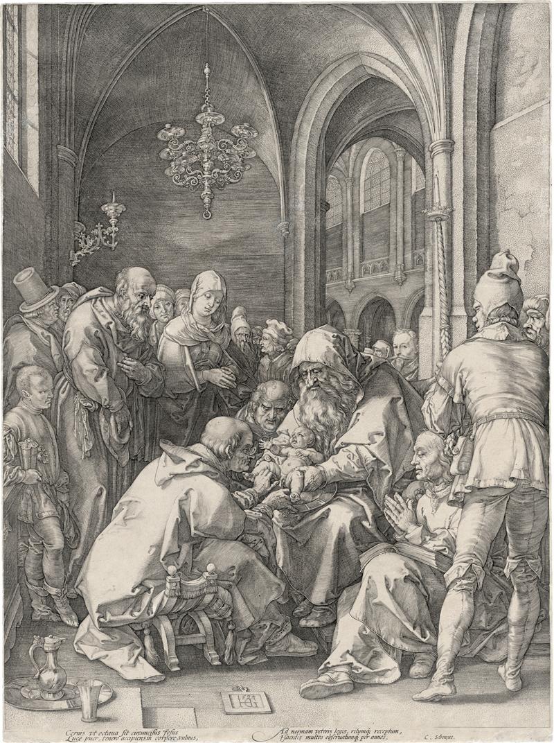 Goltzius, Hendrick: Die Beschneidung