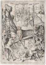 Meckenem, Israhel van: Die Kreuzigung