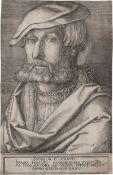 Aldegrever, Heinrich: Selbstbildnis im Alter von 35.