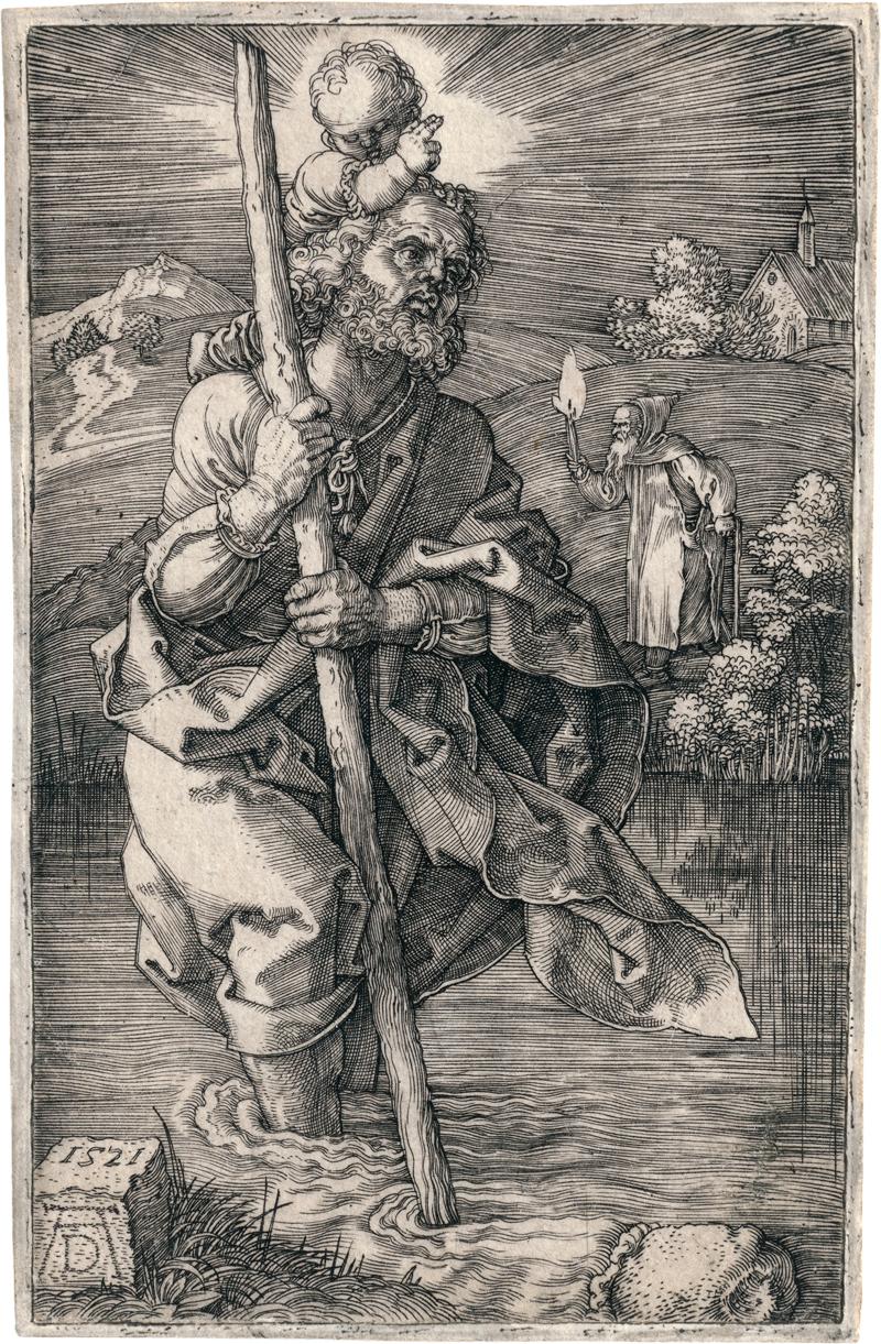 Dürer, Albrecht: Der hl. Christophorus