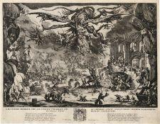 Callot, Jacques: La Tentation de St. Antoine (Die Versuchung des hl. Anto...