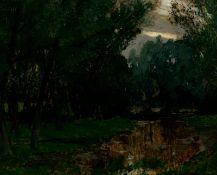 Braumüller, Philipp Georg: Teich im Wald