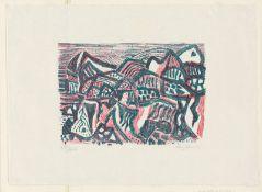 Bargheer, Eduard: Vulkanische Landschaft II