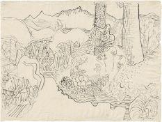 Bargheer, Eduard: Garten am Epomeo, Ischia