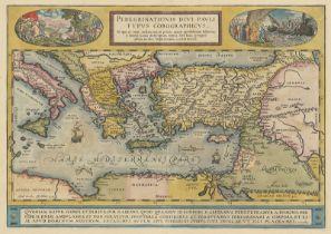 Ortelius, Abraham: Peregrinationis divi pauli typus corographicus