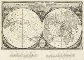 Santini, Francesco: Nouvelle mappe monde
