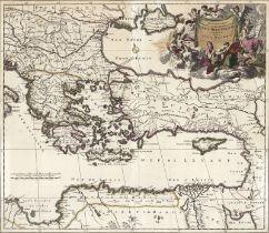 Danckerts, Justus: Accuratissima occidentalioris districtus maris mediterra...