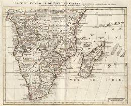 L'Isle, Guillaume de: Carte de la Barbarie de la