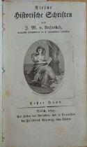 Archenholz, Johann Wilhelm von: Kleine historische Schriften