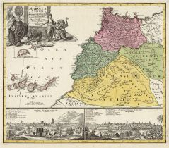 Homann, Johann Christoph: Statuum Marocca Norum