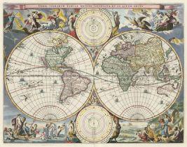 Stoopendahl, Daniel: Orbis terrarum tabula recens emendata