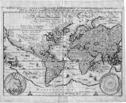 Merian, Matthäus: Nova totius terrarum orbis geographica ac hydrographica ...