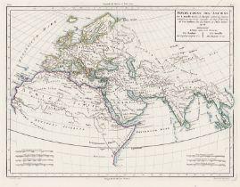 Mentelle, Edme und Chanlaire, Pierr...: Atlas universel de géographie physique