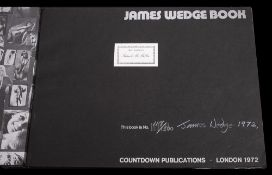 WEDGE, James - James Wedge Book : photographic illustrations throughout, org.