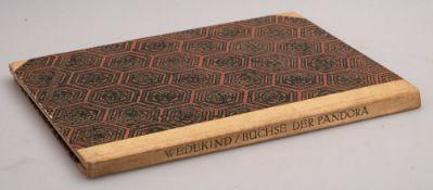 ALASTAIR : [ illustrator ] Frank Wedekind Die Buchse Der Pandora, 12 colour plates, org.