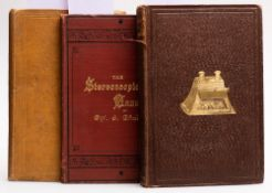 BREWSTER, Sir David - The Stereoscope its history, theory, and construction : 50 wood engravings,