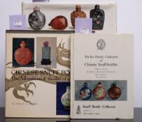 PERRY, Lilla S - Chinese Snuff Bottles : well illust, cloth in d/w, oblong 4to, Tuttle, 1975.