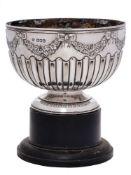 A Victorian silver rose bowl, maker William Hutton & Sons Ltd, London,
