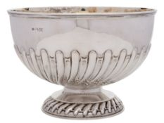 An Edwardian silver bowl, maker William Hutton & Sons Ltd, London,