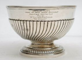 A Victorian silver Hunt trophy,