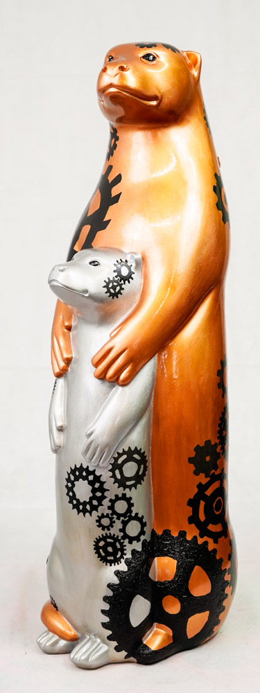 Lot No: 36 - Ref No: 020 Wheal Otters By Alexis' Art Wheal Otters have been carefully designed to - Image 2 of 4