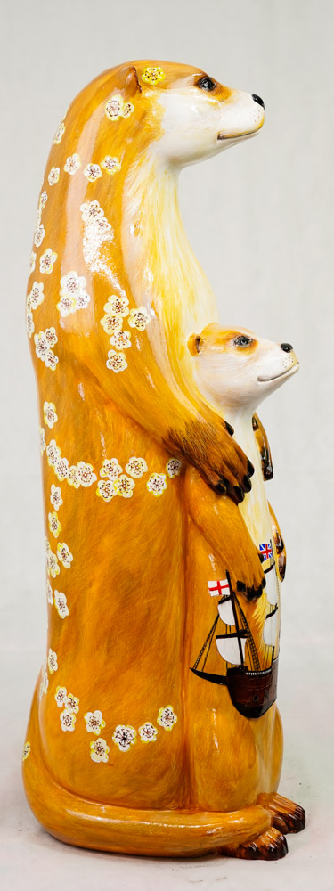 Lot No: 81 - Ref No: 080 The Mayflower Otter By Jan Phethean Jan Phethean is a contemporary - Image 3 of 3