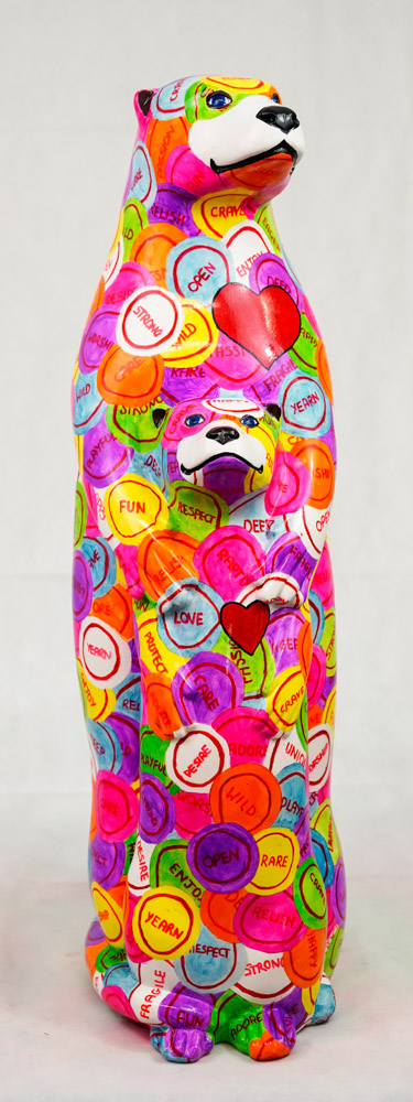 Lot No: 27 - Ref No: 006 Otterly in Love By Amy Williams Similar to the number of words inuits