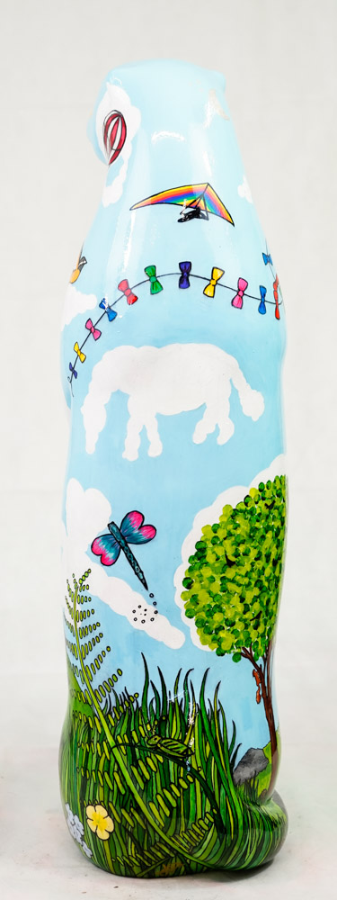 Lot No: 65 - Ref No: 056 An Otterly Dreamy Summer Day By Julie Greenaway Have you ever laid back - Image 3 of 4