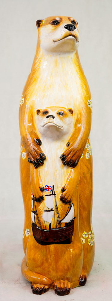Lot No: 81 - Ref No: 080 The Mayflower Otter By Jan Phethean Jan Phethean is a contemporary