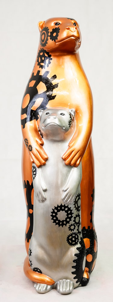 Lot No: 36 - Ref No: 020 Wheal Otters By Alexis' Art Wheal Otters have been carefully designed to