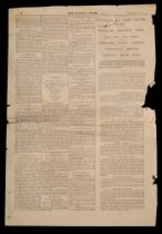 A section of 'The Weekly Press' February 1912,
