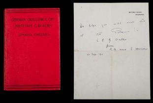 Captain Lawrence Edward Grace Oates RN (1880-1912) a signed copy of Erskine Childers 'German