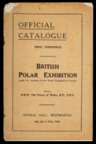 A catalogue for 'The British Polar Exhibition' Central Hall Westminster, July 2nd to 15th 1930:.