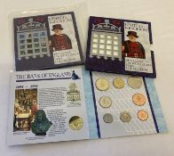 2 sets of 1994 Brilliant Uncirculated Coins sets, one still in sealed plastic bag.
