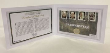 A Westminster Collection Limited Edition (low number) Frankenstein UK first day of issue coin cover.