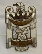 A German badge in the style of the Interwar period Silesian Eagle 1st class.