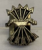 A Spanish Civil War style German Condor Legion lapel pin.