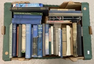 A box of assorted vintage military related books, mostly relating to aircraft. To include: