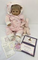 "A boxed 1999 ""Siggi"" Zapf Creations collectors doll by Rolanda Heimer, No. 554."